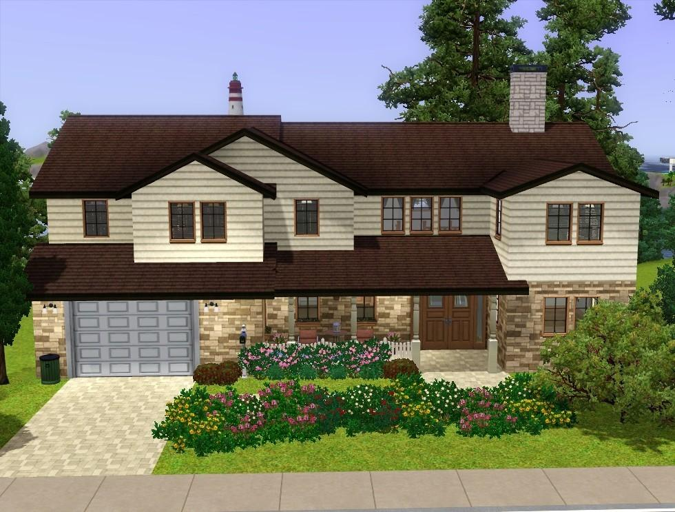 Mod the sims cozy suburban home for Classic house sims 3