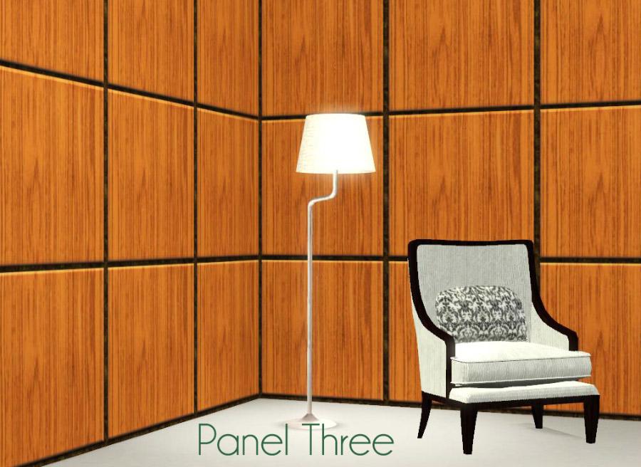 Mod The Sims Raised Paneled Walls