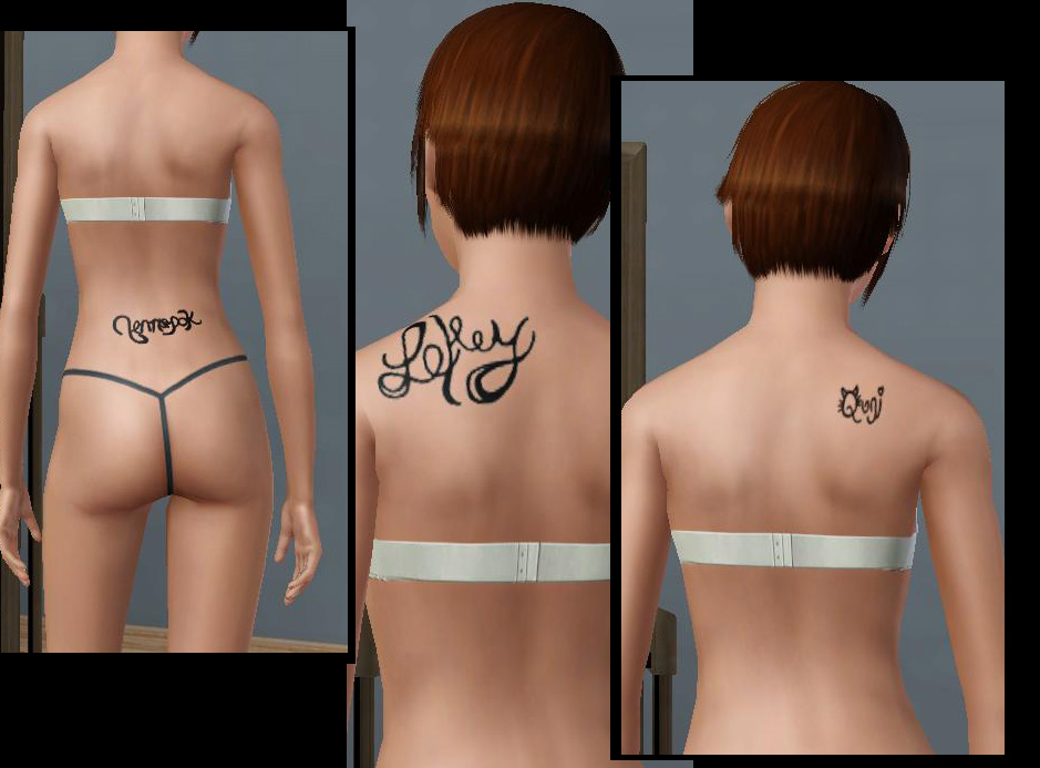 "There are five ""name"" tattoos (including the daluved1..one)."