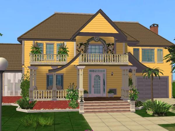 Big sims houses.