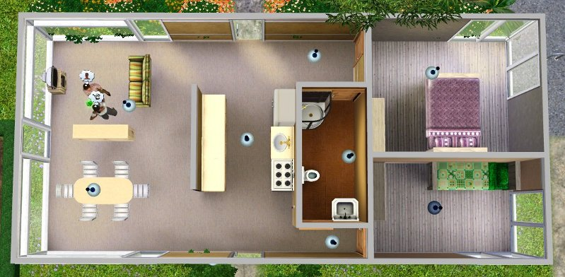 mini home floor plans