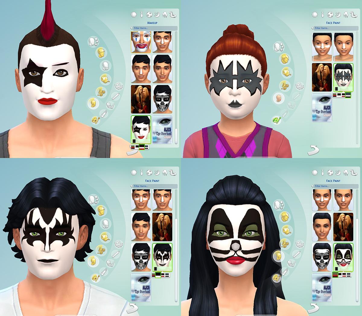 Kiss Band Makeup: Rock Legends