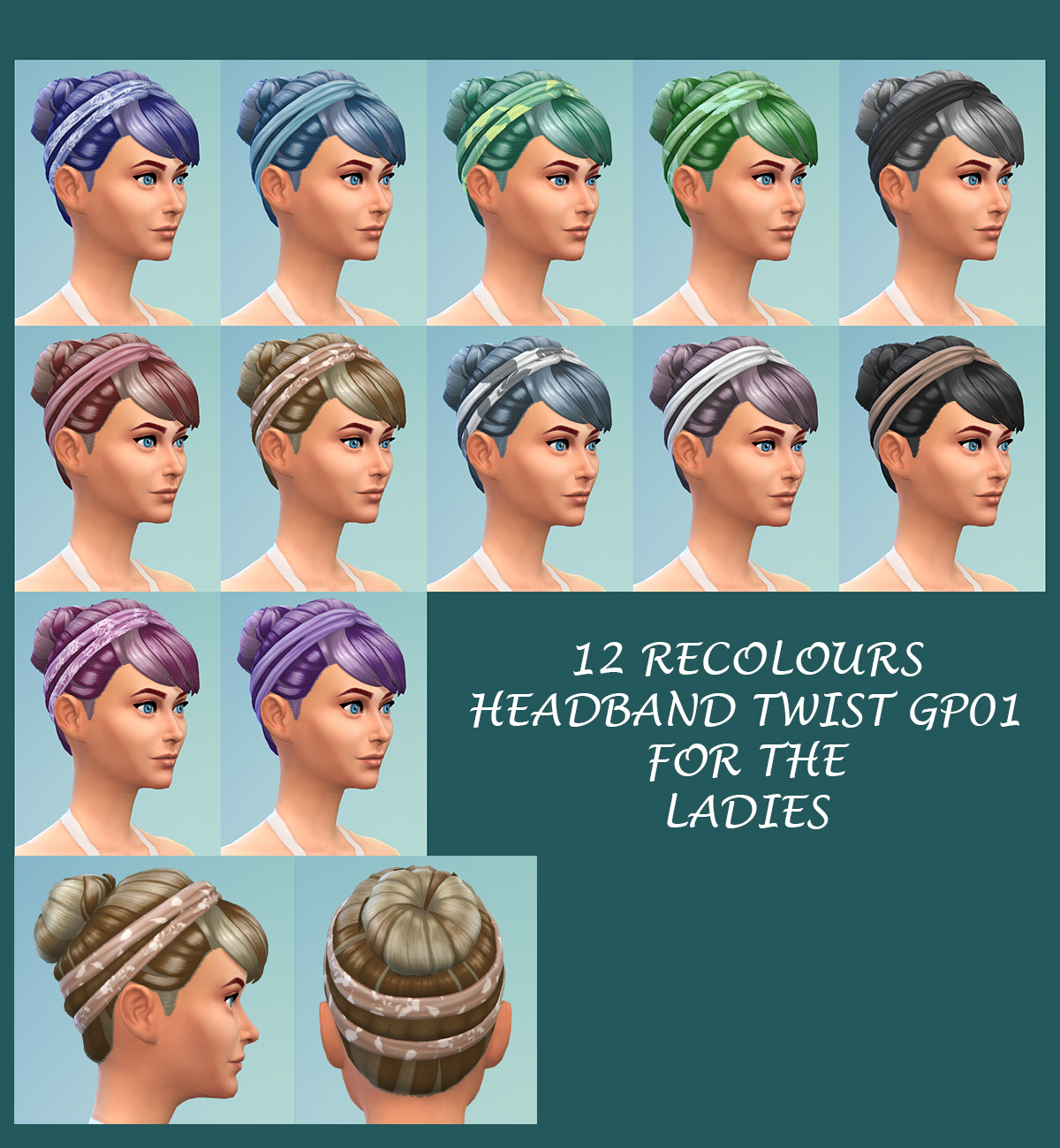 """Sims 4 Cool Kitchen Stuff: 4 Stuff Pack Hairstyles Re""""stuff""""ed With"""