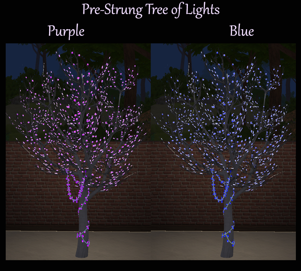 Pre-Strung Tree Of Lights Multicolour Recolours