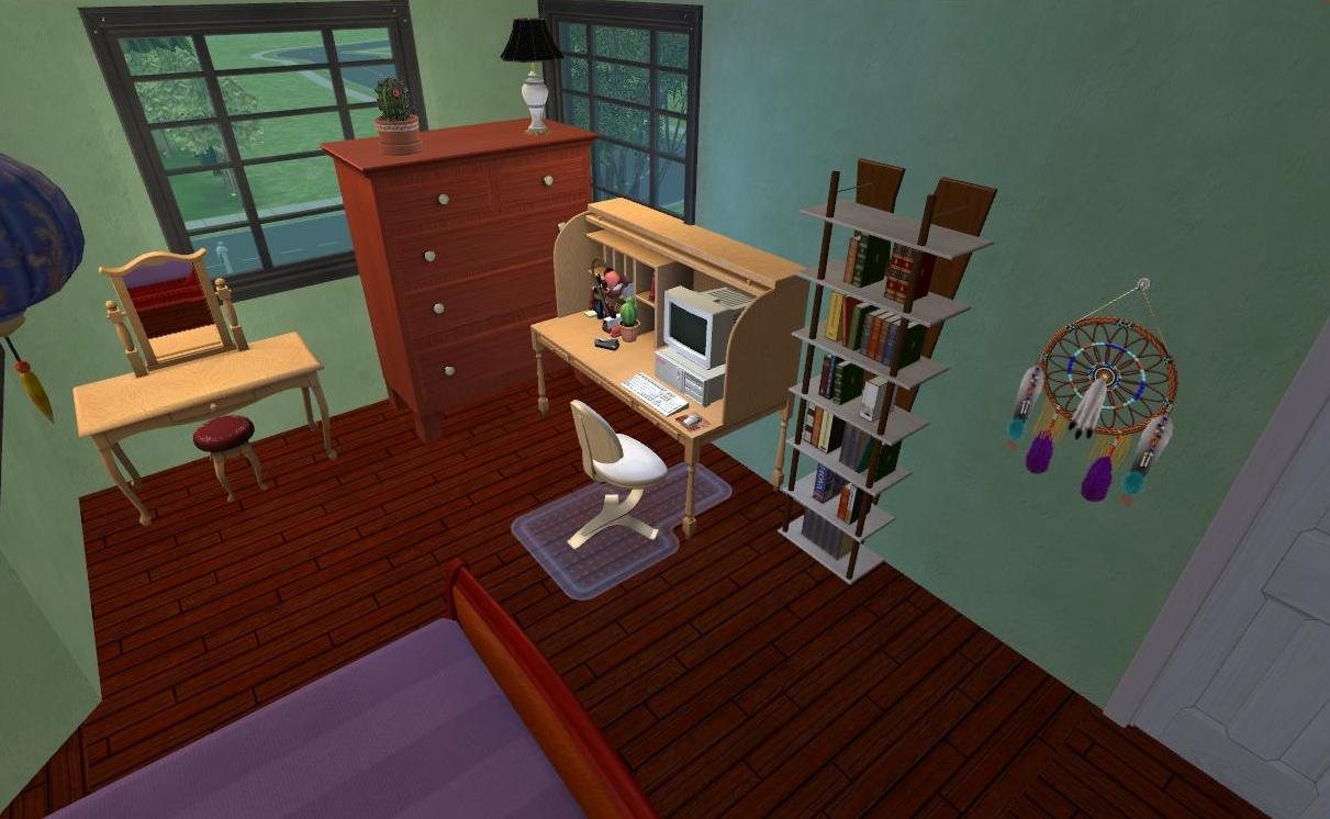 mod the sims swan house from twilight furnished and