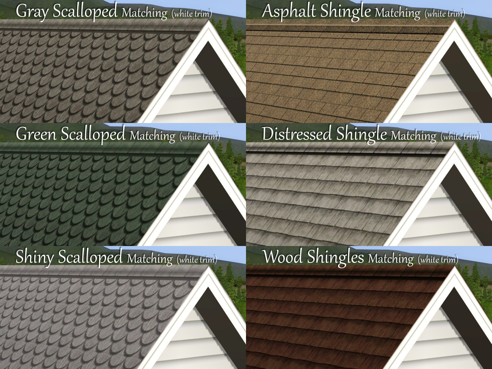 Mod The Sims Coastal New England Roofs