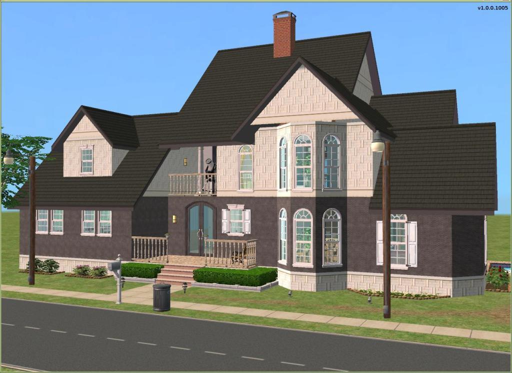 Mod The Sims Make 39 Em Prettie European Townhouse Base