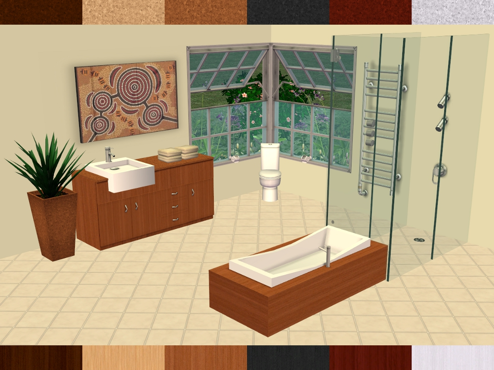 Mod The Sims   Downloads  U003e Buy Mode  U003e By Room  U003e Bathroom
