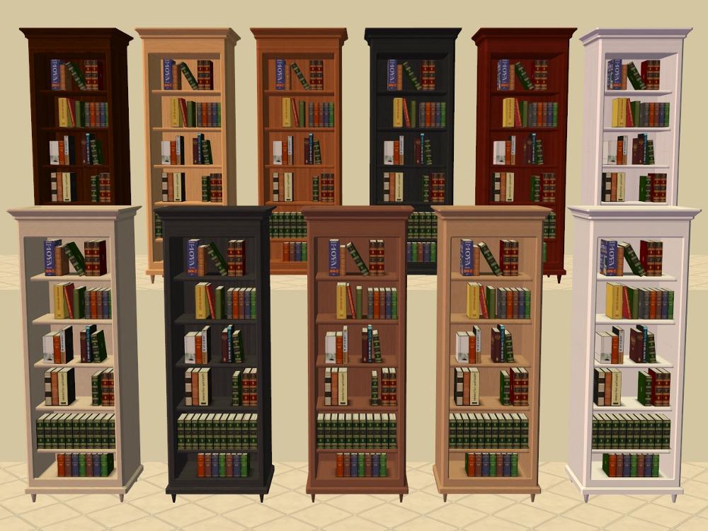 Mod The Sims - Buyable Bookshelf of Education