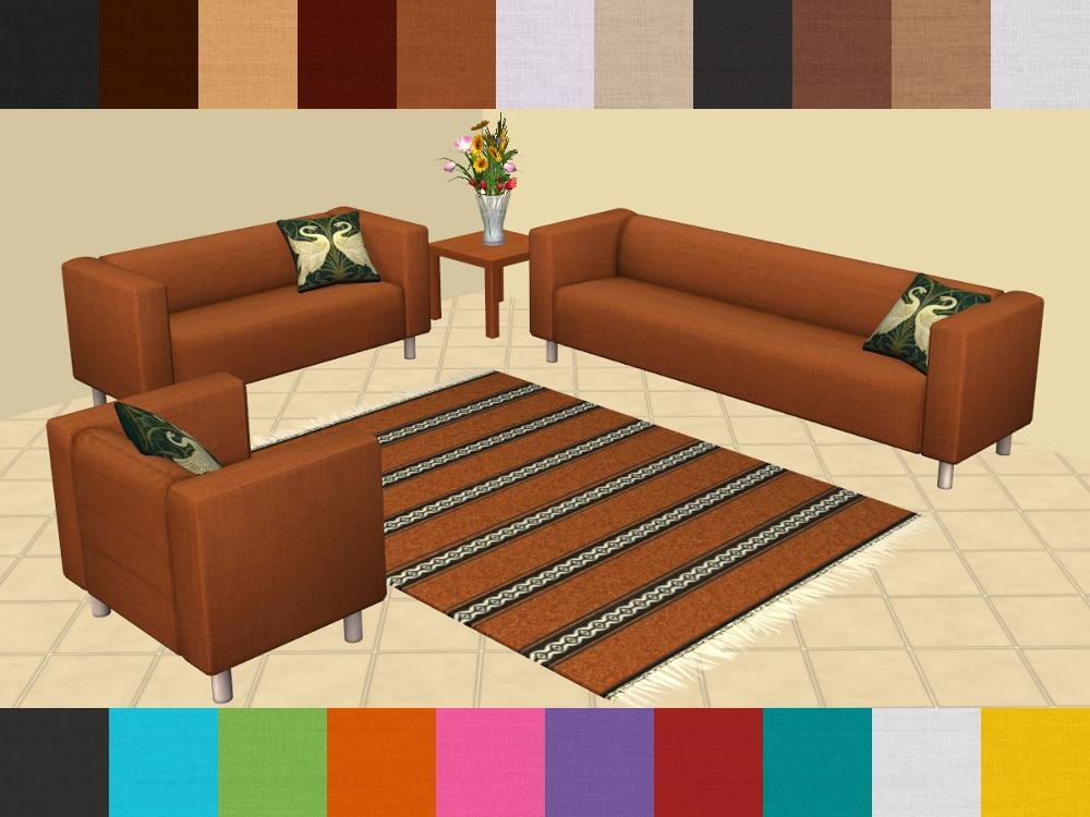 sofa klippan affordable d model klippan couch ikea with. Black Bedroom Furniture Sets. Home Design Ideas