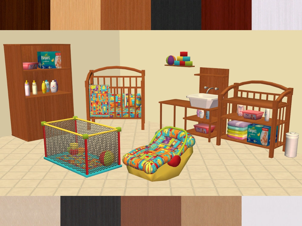 Used Crib Mattress Price Mod The Sims - eris3000's The 3000 Totts Baby's Dream ...