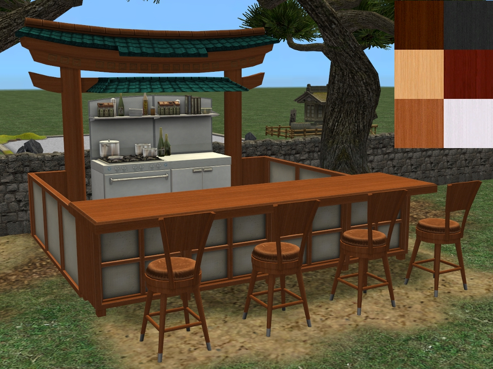 Mod The Sims Nutritional Noodle Food Stand In Al Colours