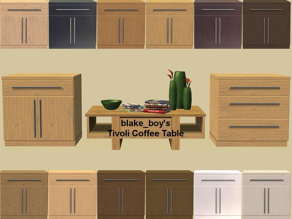 ModTheSims - B.B's Kitchen Basic Tivoli Recolours