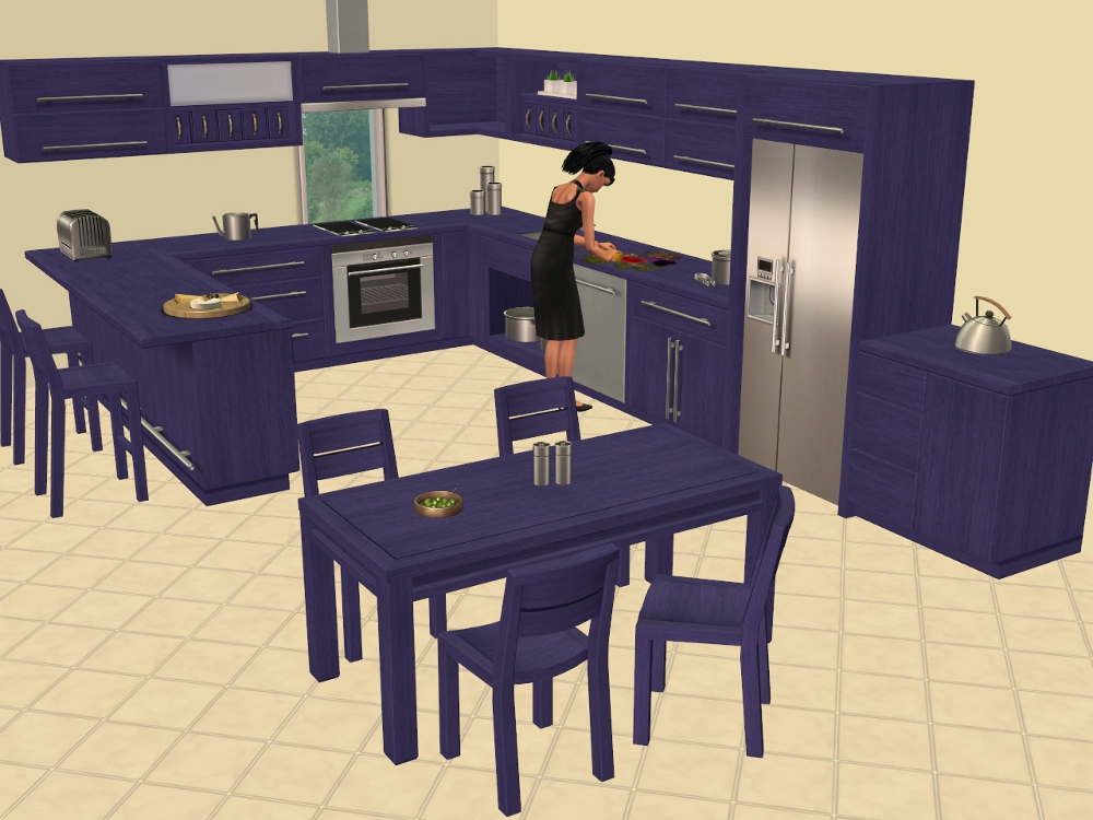 Mod The Sims Bb S Kitchen Basic In More Colours