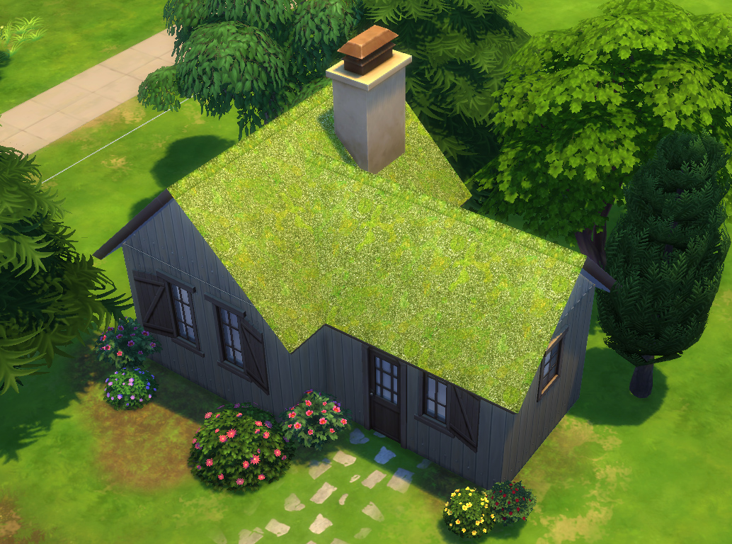 Mod The Sims Forestgreen Roof