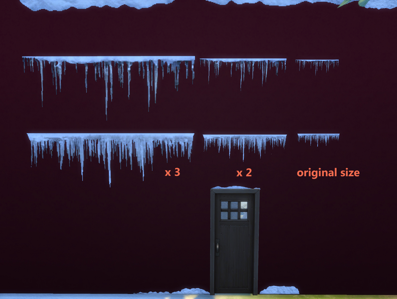 Floor Elevation Cheat Sims 2 : Mod the sims snow wall effect updated on