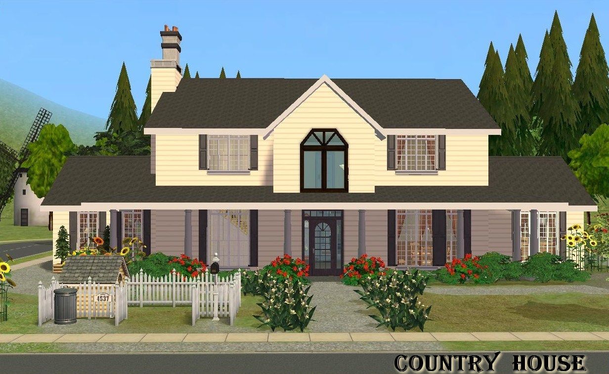 Mod The Sims Country House