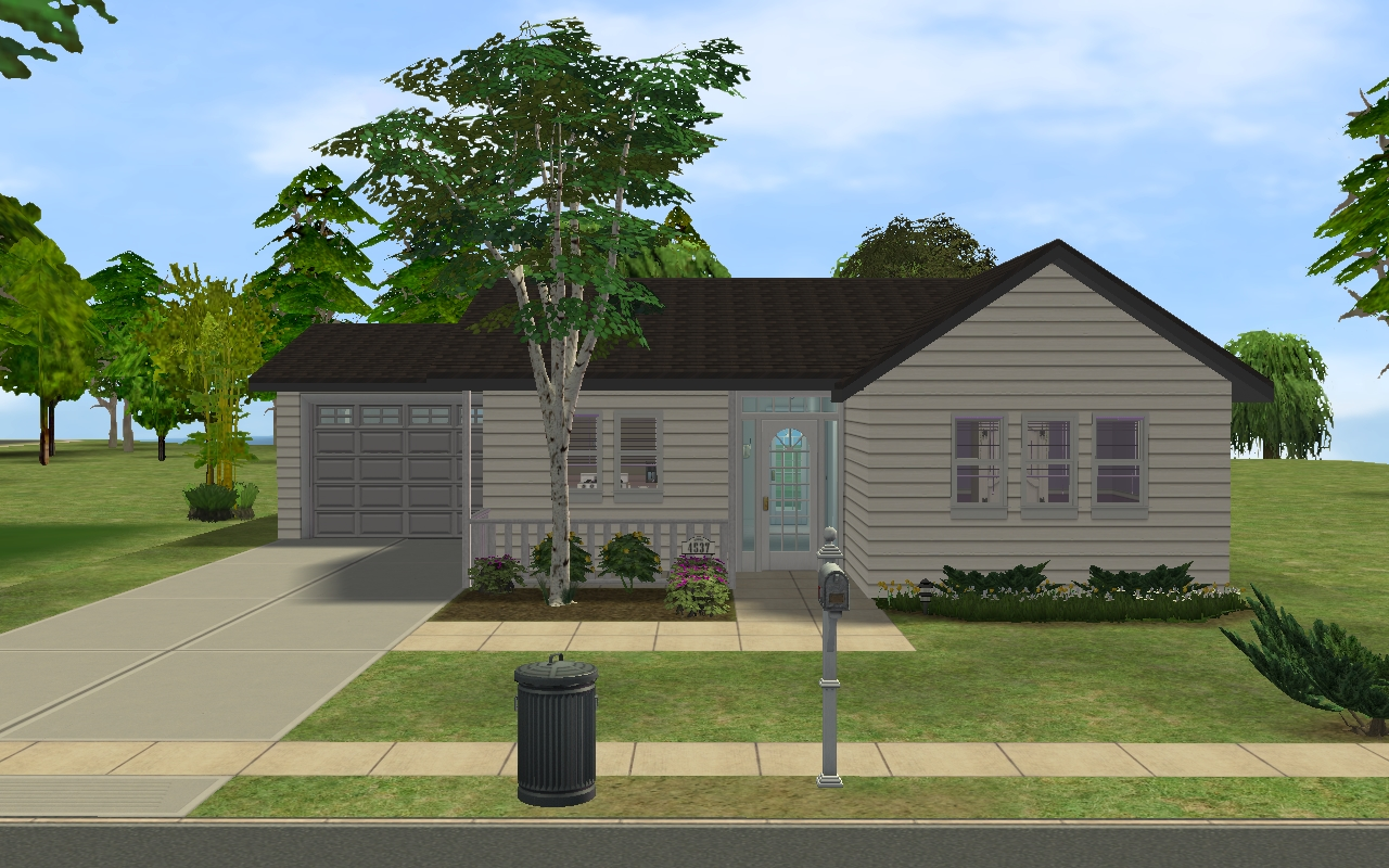 Mod the sims small suburban house for Classic house sims 3