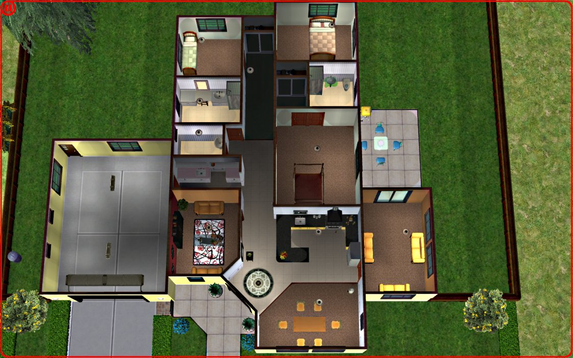 Mod The Sims - Modern Family Home