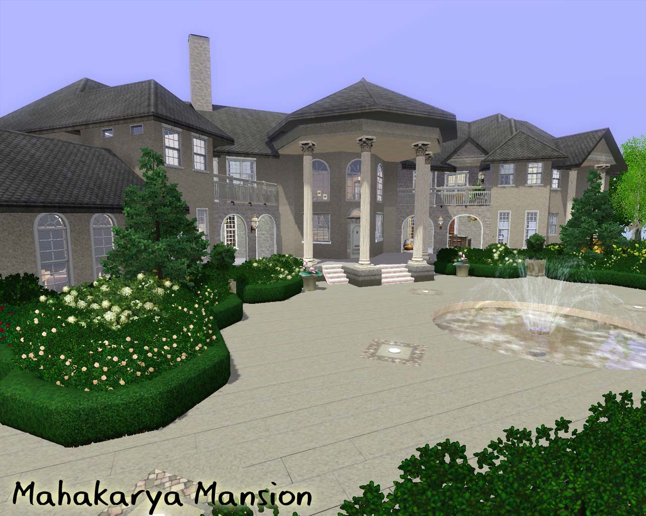 Mod the sims mahakarya mansion for Classic house sims 3