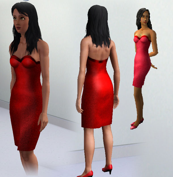 Bella Goth Top And Skirt