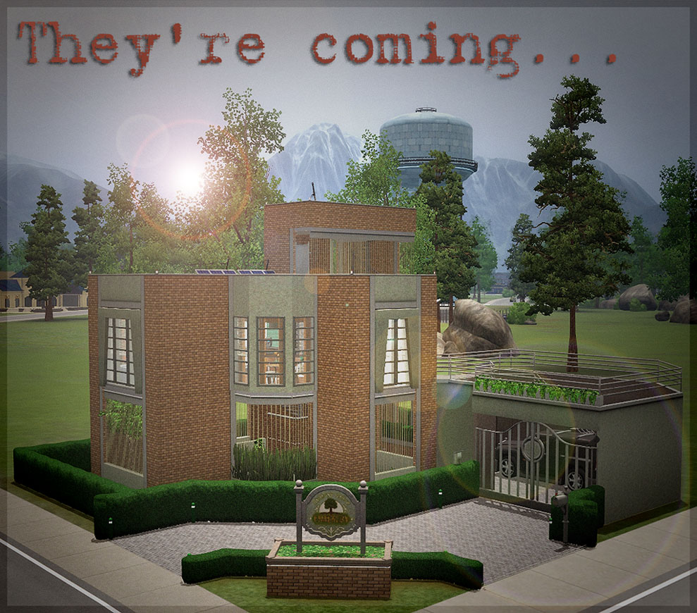 Mod the sims the pre apocalypse house for Pictures for the house