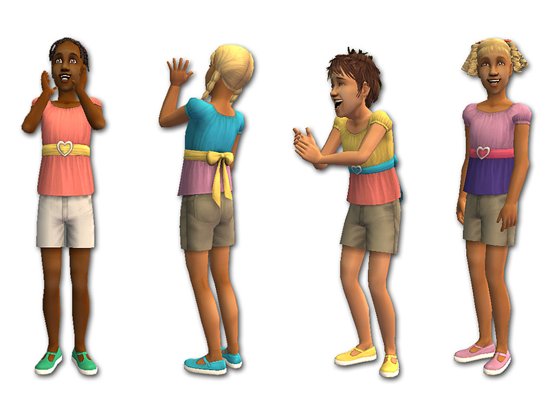 1ae18b1d7 Mod The Sims - Summer Outfits for Girls