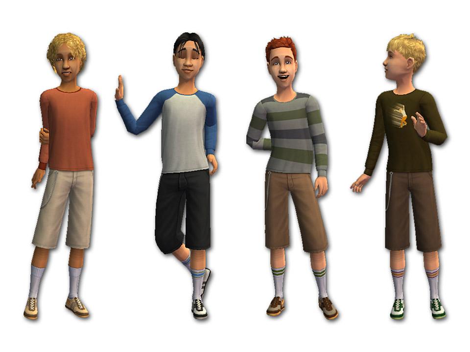 Mod The Sims Skater Boys