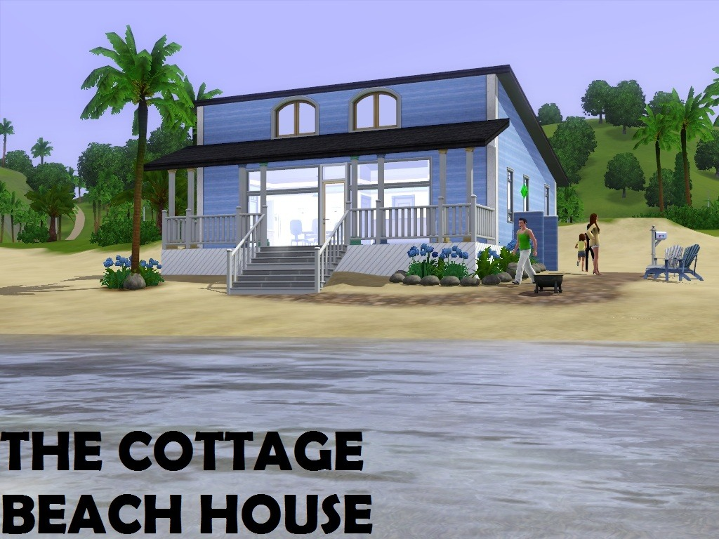 Mod The Sims The Cottage Beach House Under
