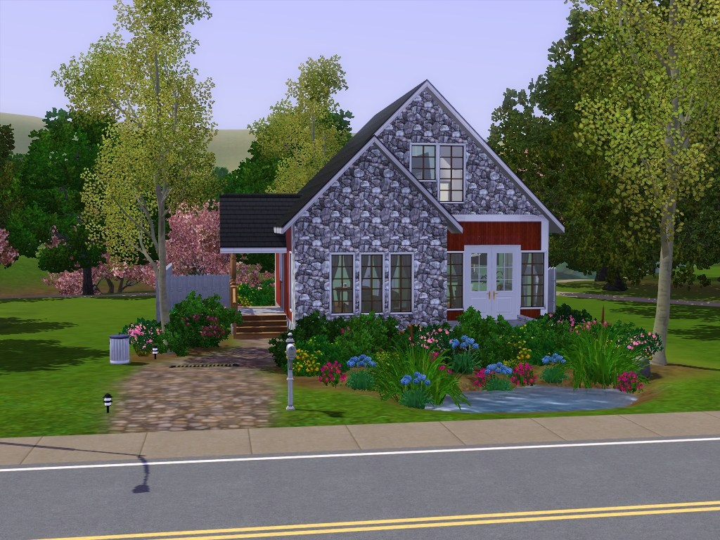 Mod the sims luxury vacation cottage for Vacation cottage