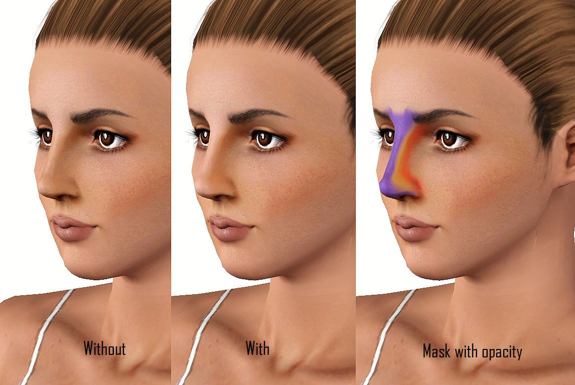 How to shape your nose with makeup