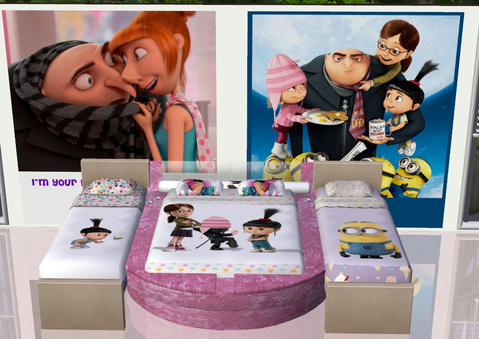 Mod The Sims - Despicable Me2 Bedding & 4 Paintings