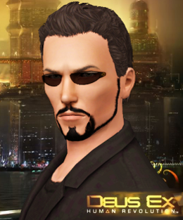 Adam Jensen Glasses Mod The Sims - Adam Je...