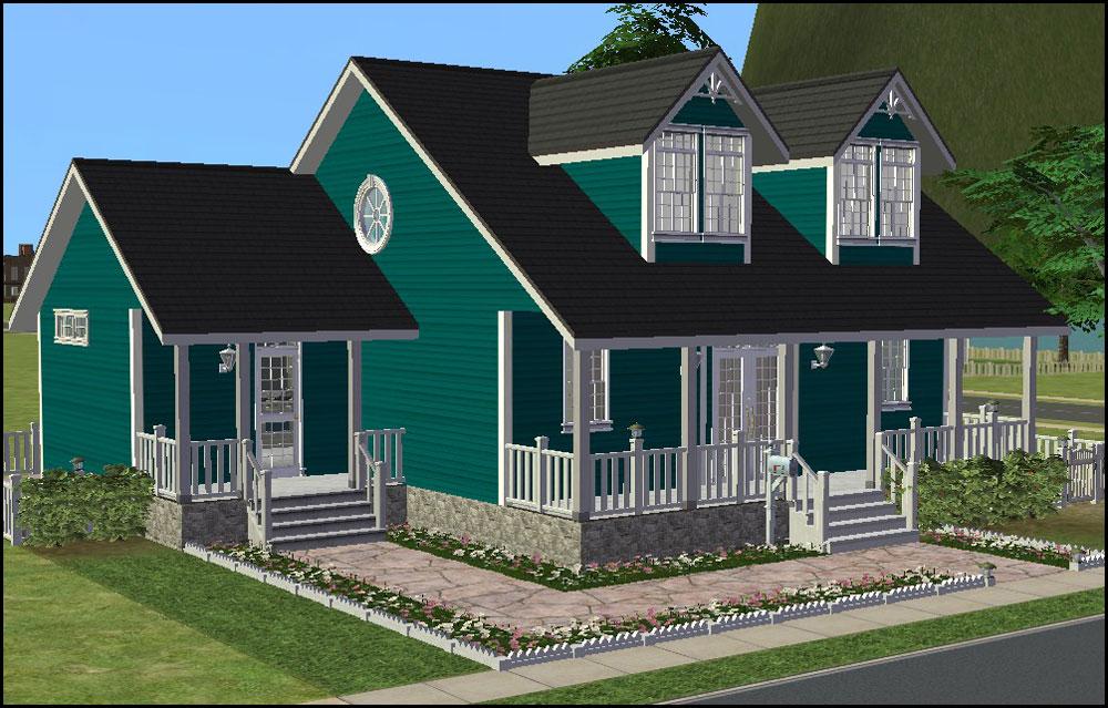 Prime Mod The Sims Cozy Cape Cod Cottage Interior Design Ideas Gentotryabchikinfo