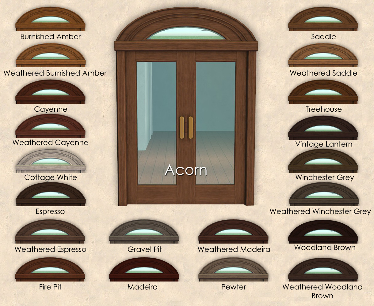 Mod The Sims Bon Voyage Hotel Door Window Recolors