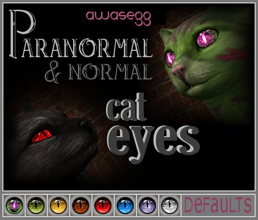 Животные - Страница 5 MTS_awasegg-461049-Paranormal-CatEyes