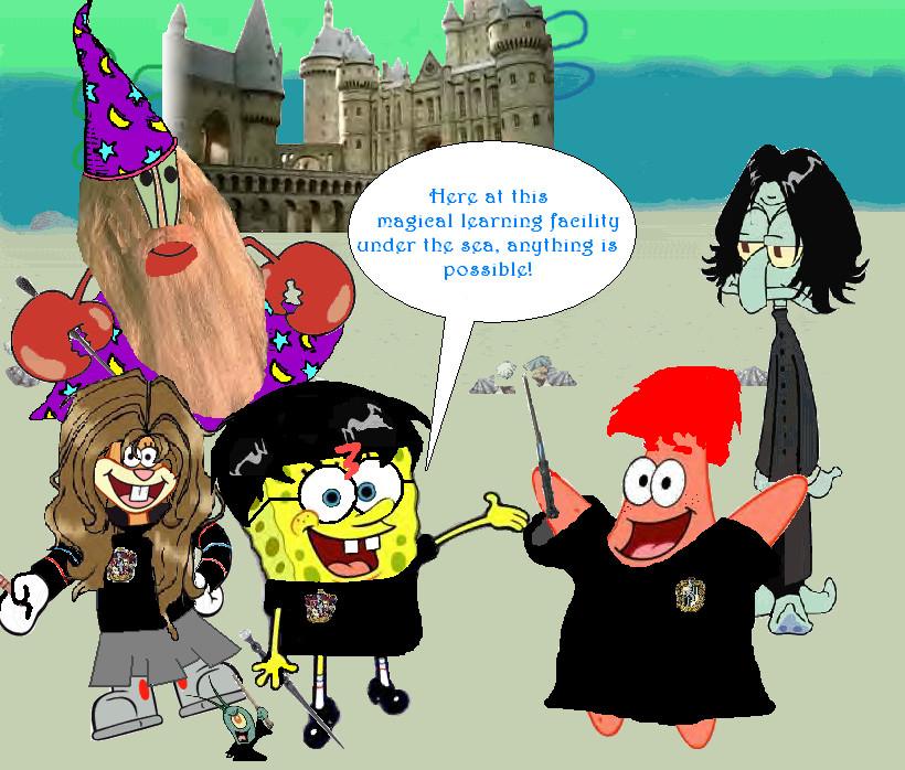 Os Fixóis MTS2_RoseGirl101_1124119_Spongebob_MagicPants_by_shamrocker417