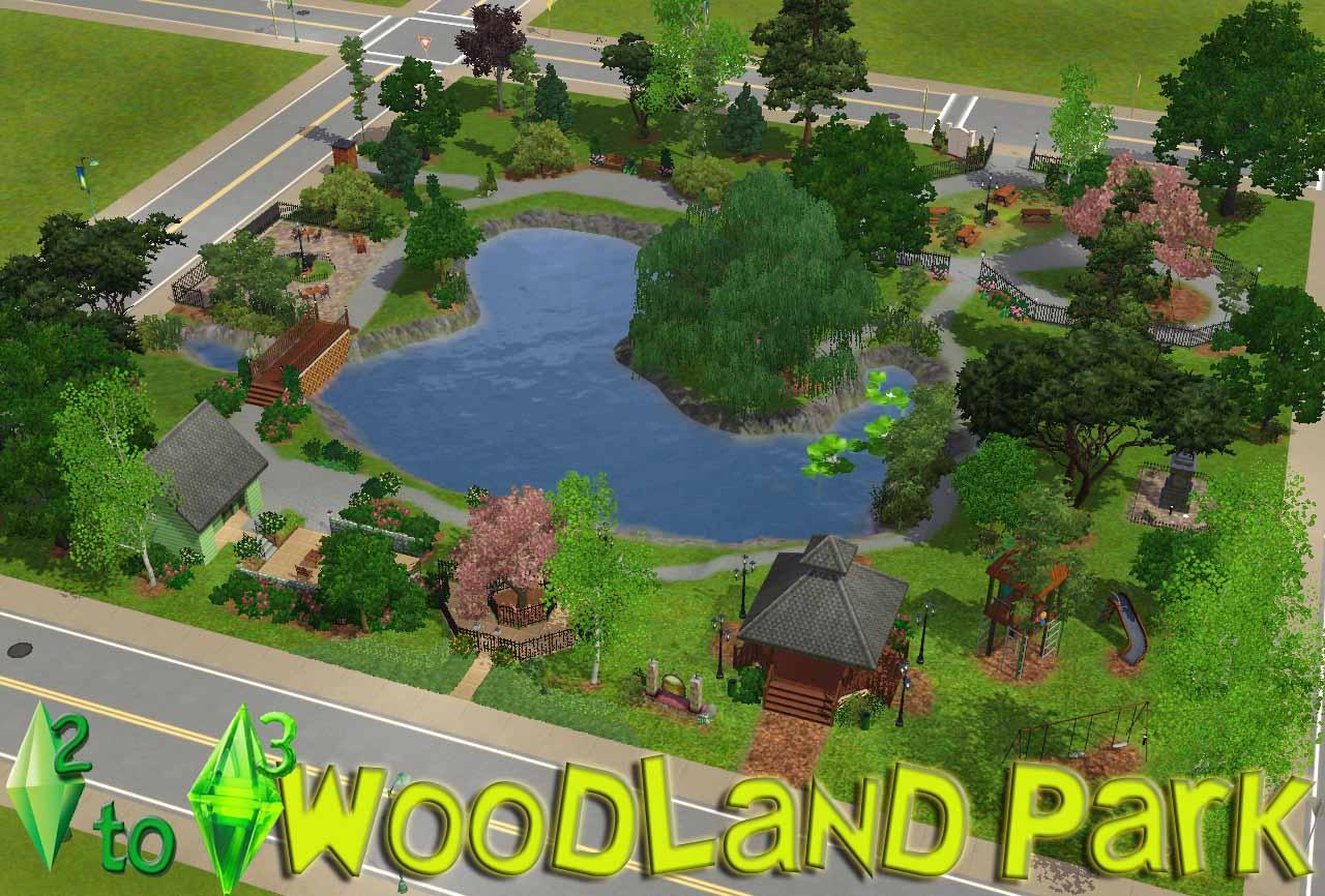 Sims 3 Park