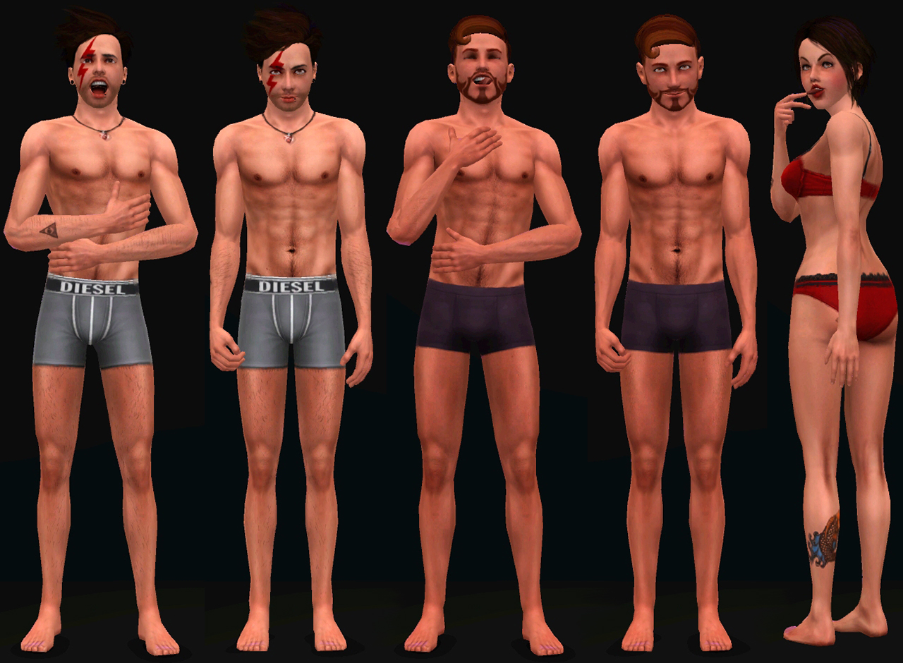 Mod The Sims - Mad Sims Pose Pack