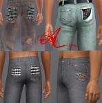 Мужская повседневная одежда MTS2_thumb_Arisuka_1059773_MTS2_Arisuka_1032317_JeansI