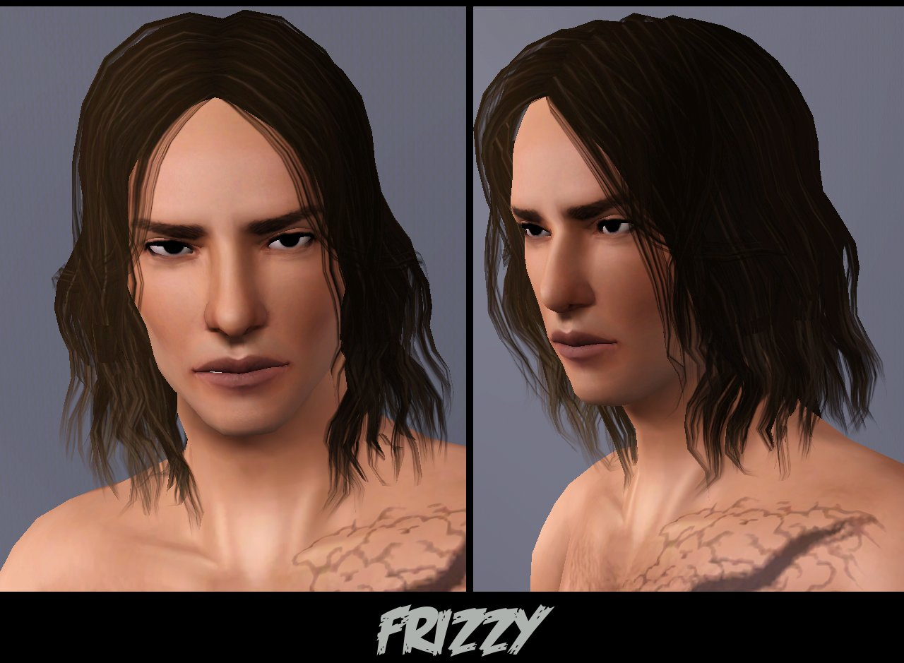 Messy Afro Sims 4 | newhairstylesformen2014.com
