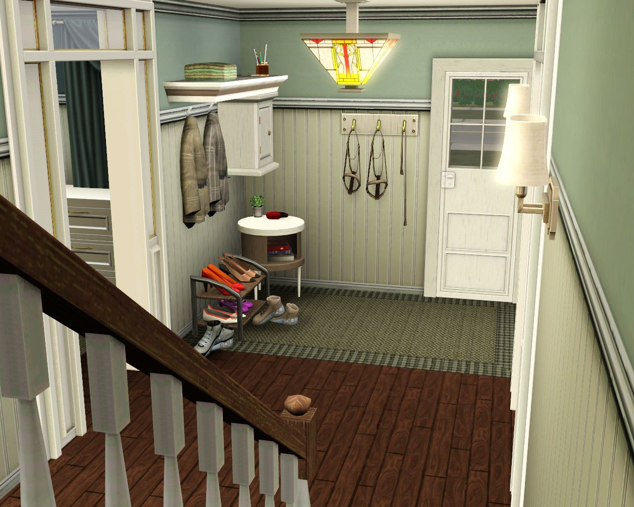 mod the sims wcif pair of decorative shoes may be store On sims 3 foyer ideas