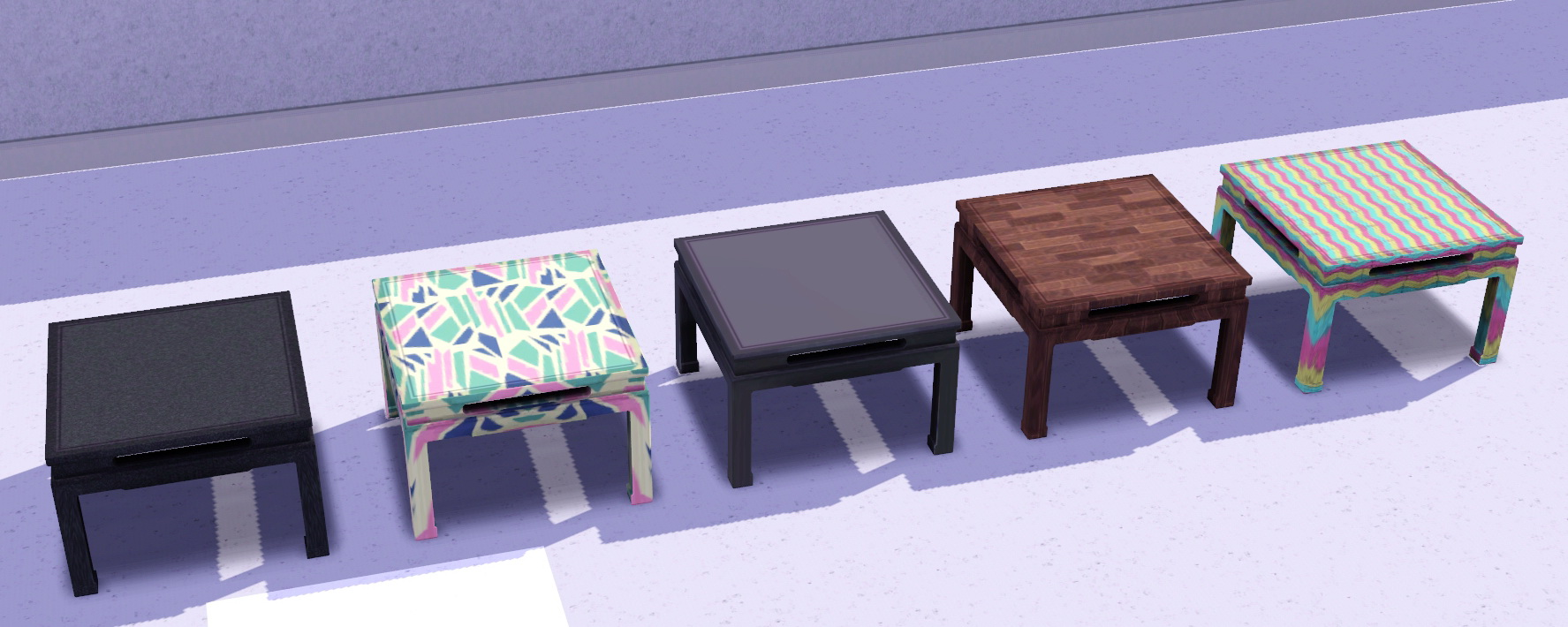 Mod The Sims Japanese Low Dining Table TS2 Bon Voyage