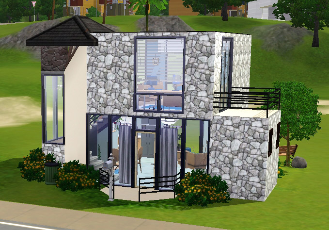 Mod The Sims Small Modern House