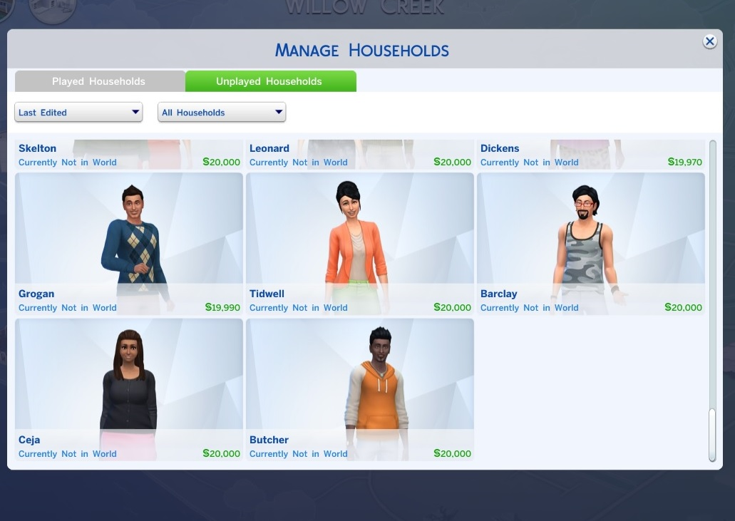 Mod The Sims - Reduced Townie Generating (V10 1 19)