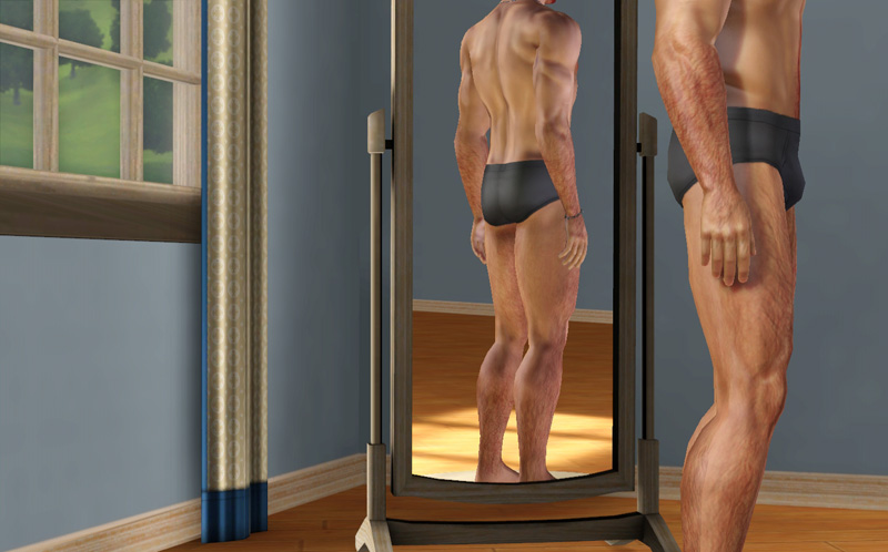 the sims 4 how to add body hair