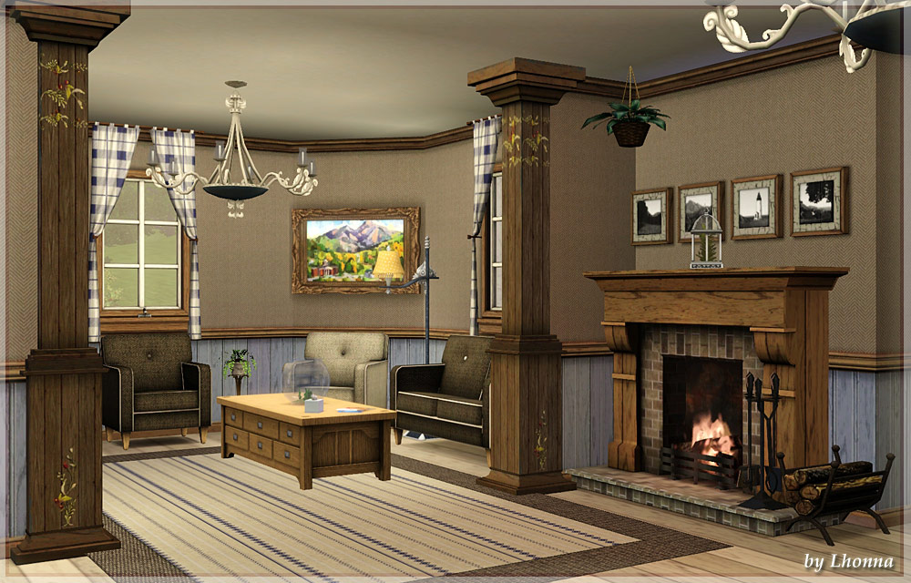Mod the sims lavender cozy french villa for Sims 3 master bedroom ideas