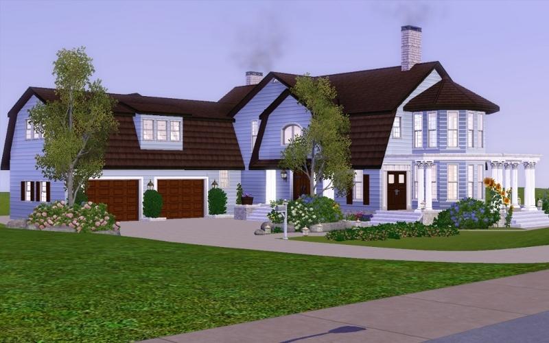 attic expansion ideas - Mod The Sims Mint Farmhouse No CC