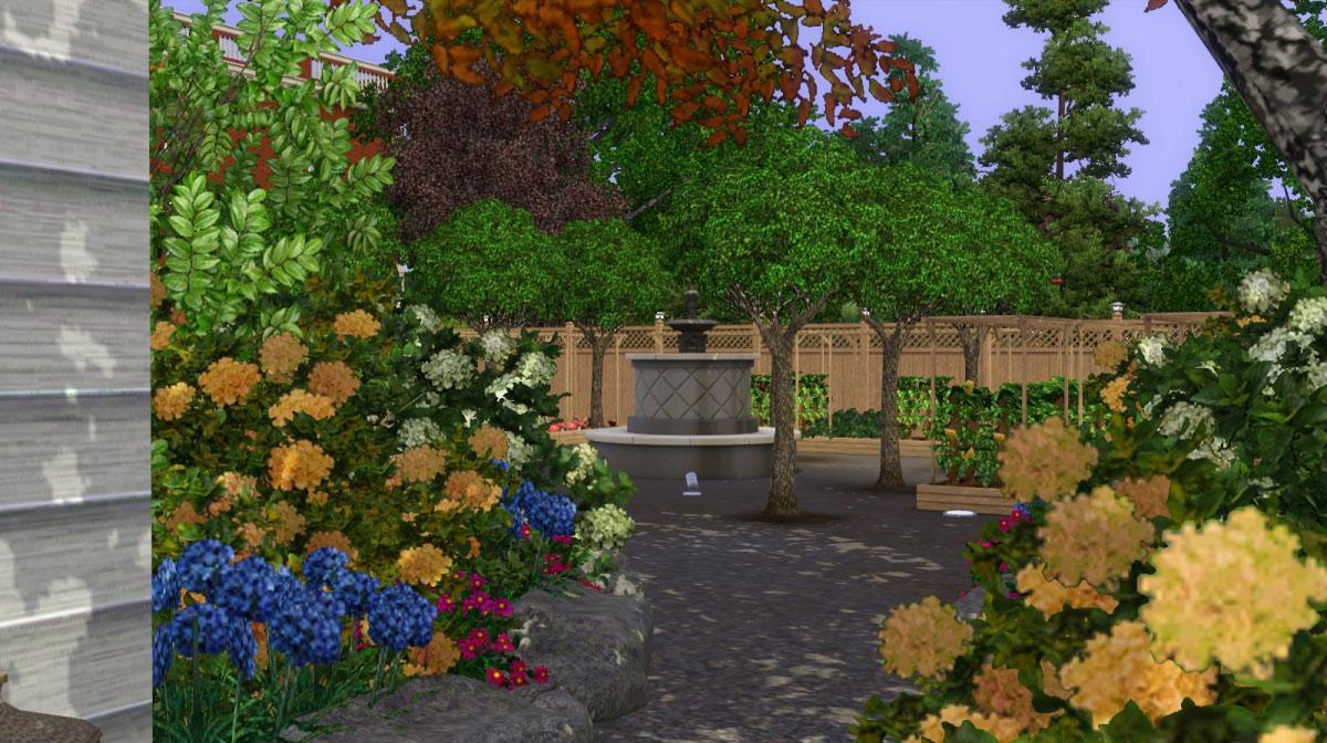 Mod the sims koigu community gardens for Indoor gardening sims 4