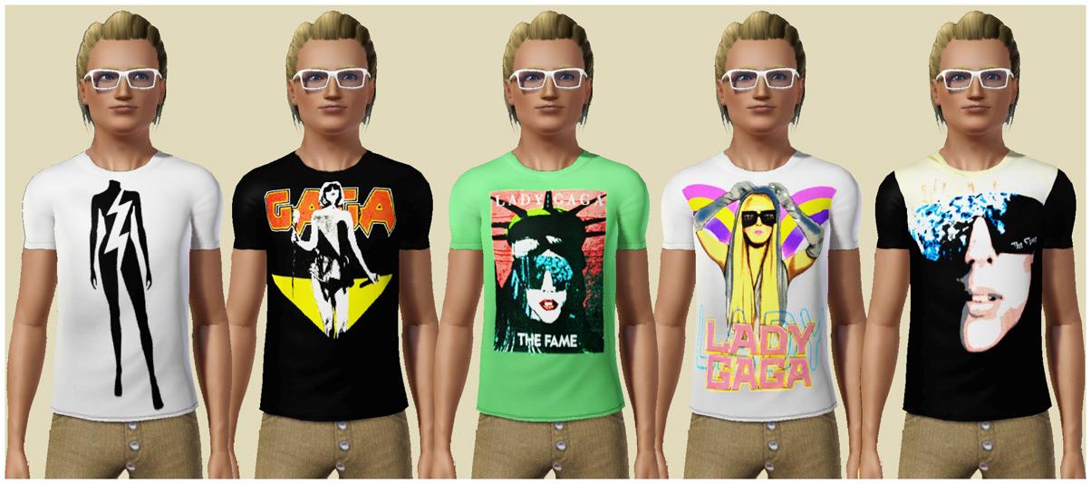 lady gaga shirts